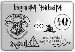 Harry Potter Decal Set - Apple Macbook Laptop Vinyl Sticker