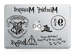 Harry Potter Decal Set - Apple Macbook Laptop Vinyl Sticker