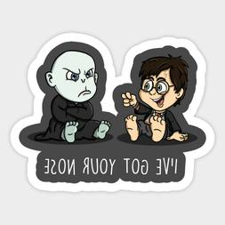 Harry Potter Got Your Nose Lord Voldemort Vinyl Decal Sticke
