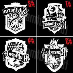 Harry Potter Hogwart Houses Car Window Laptop VINYL DECAL ST