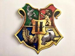 Harry Potter Hogwarts Crest Window Bumper Laptop Digital Vin