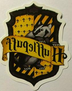 Harry Potter Hufflepuff Crest Sticker decal skate board ipad