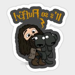 Harry Potter It's so Fluffy Rubeus Hagrid Vinyl Decal Sticke
