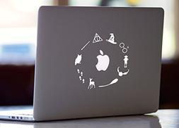 Harry Potter Macbook Laptop Vinyl Decal Sticker
