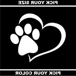 Heart 02 Vinyl Sticker/Decal *Foster *Dog *Cat *Adopt *Love