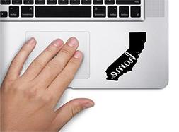 #2 Home California Keypad Computer Laptop Symbol Decal Famil