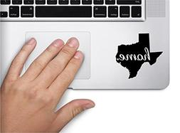 #2 Home Texas State Name Keypad Computer Laptop Symbol Decal