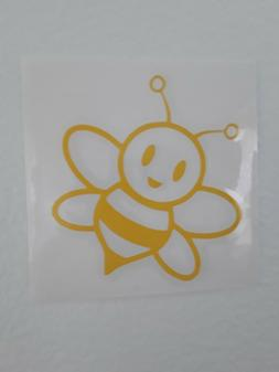 honey bee vinyl sticker decal laptops windows bumper door tu