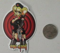 hook ups sticker anime naughty nurse skate skateboard cell l