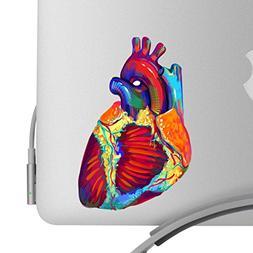 Beautiful Human Heart Artistic Full Color Post Impressionist