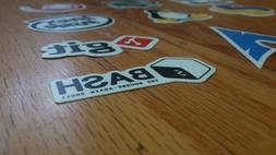 Vinyl Cut Programming Programmer Developer stickers laptop L
