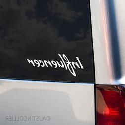 INFLUENCER Vinyl Decal Car Laptop Sticker - Motivational Ins