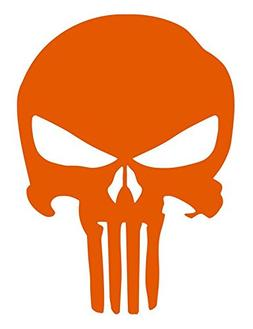IOrn Punisher Skull Decal Vinyl Sticker|Cars Trucks SUV Wall