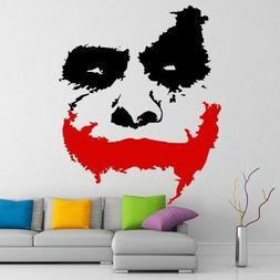 Joker Batman Sticker Vinyl Window Laptop Wall Decal Comics W