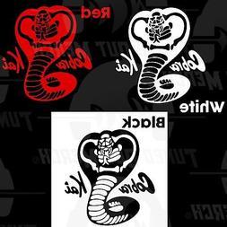 COBRA KAI Logo The Karate Kid YouTube Car Truck Laptop VINYL