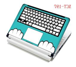 KeyBoard <font><b>laptop</b></font> skin covers black comput