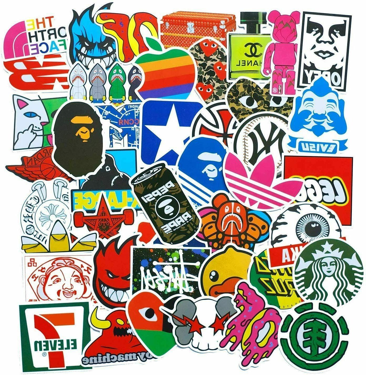 100/200/300 Stickers Bomb Vinyl Laptop Dope