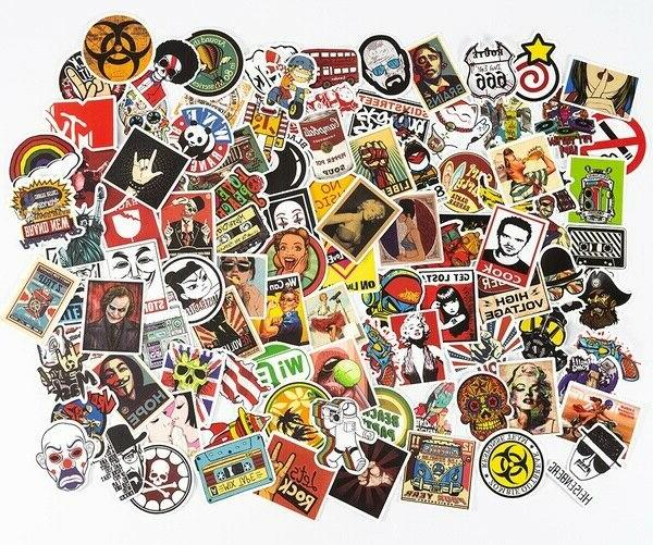 100/200/300 Bomb Vinyl Laptop Luggage Dope Sticker