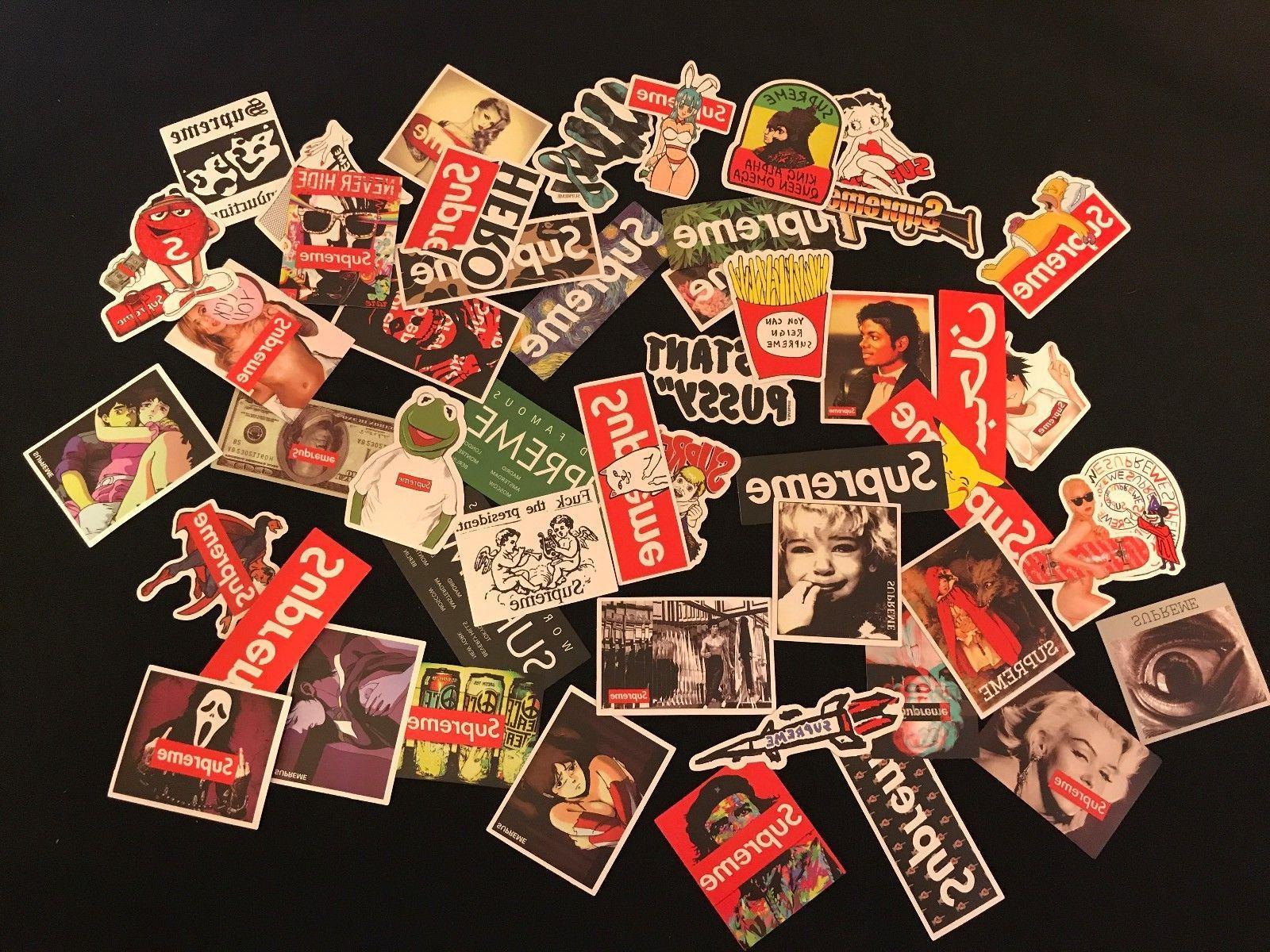 100 Vintage Vinyl Luggage Decals