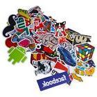 100 pcs Skateboard Sticker Pack Funny Laptop Guitar Snowboar