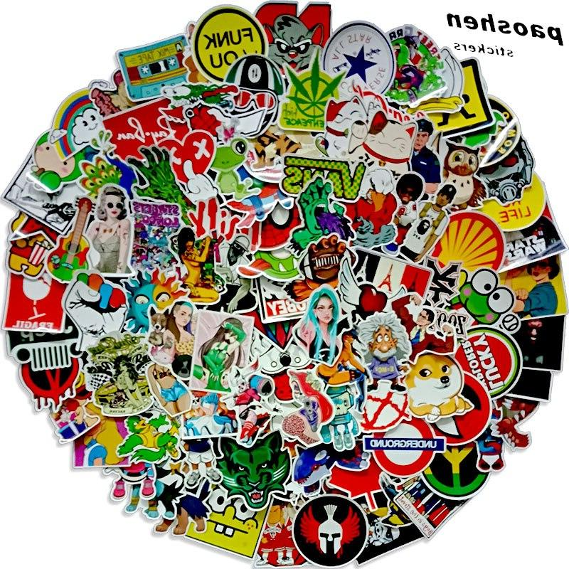 100 pcs random surprisel font b stickers
