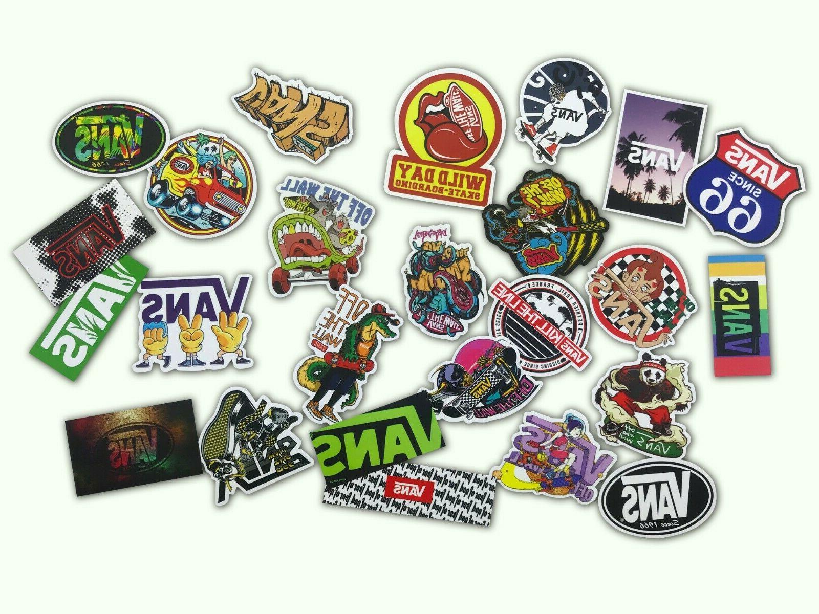 100 Sticker Laptop Stickers Lot