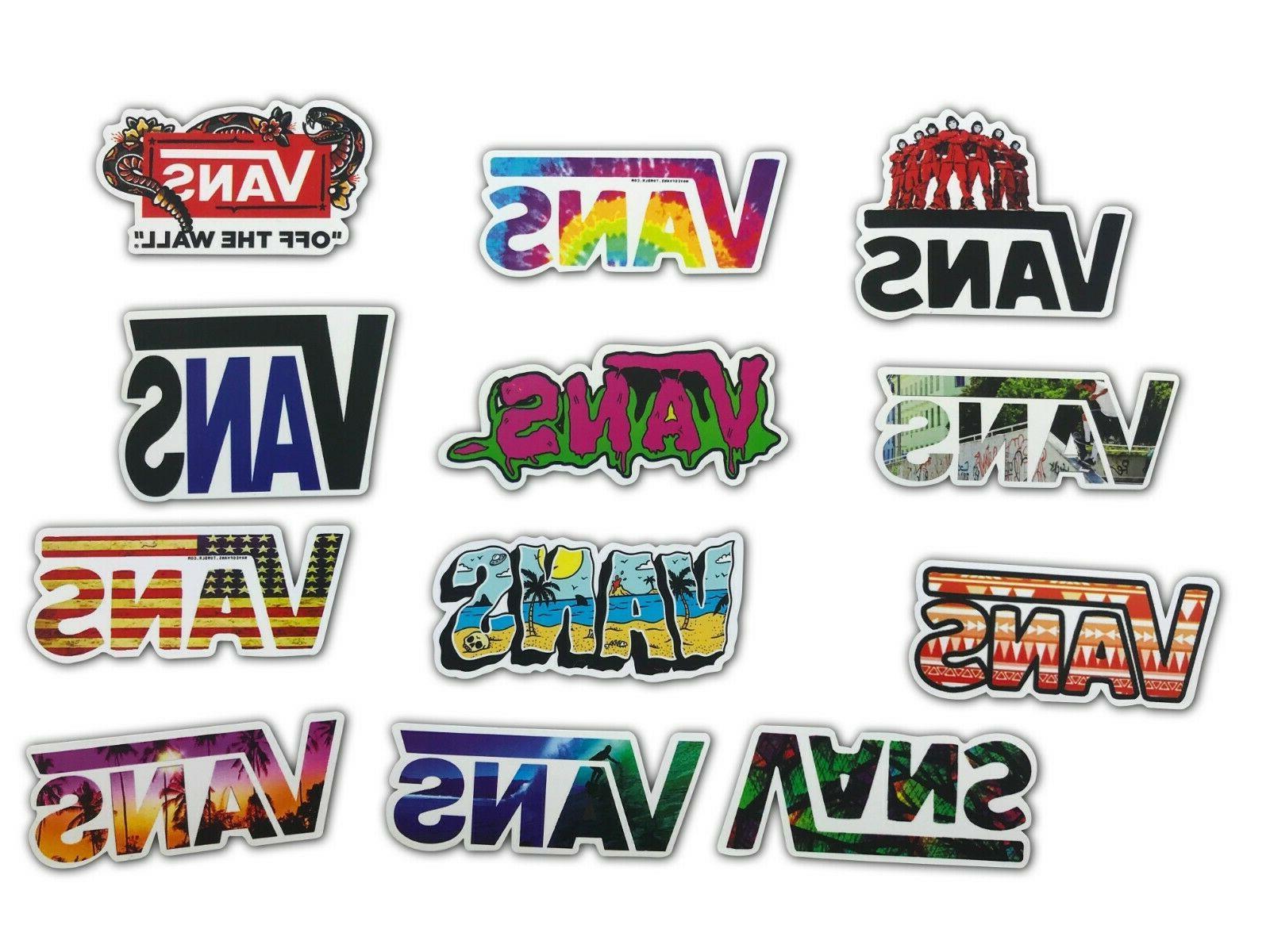 100 VANS THE Sticker Laptop Lot