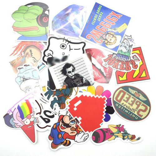 100 Stickers bomb Vintage Hype Decals
