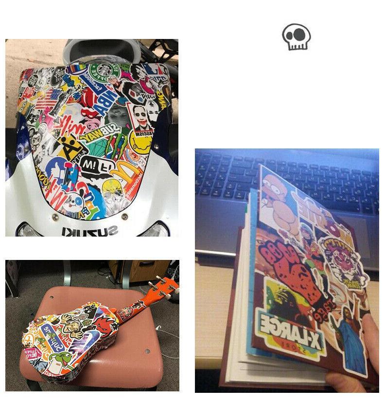 100 Travel Skateboard bomb Vinyl Laptop Decals Lot