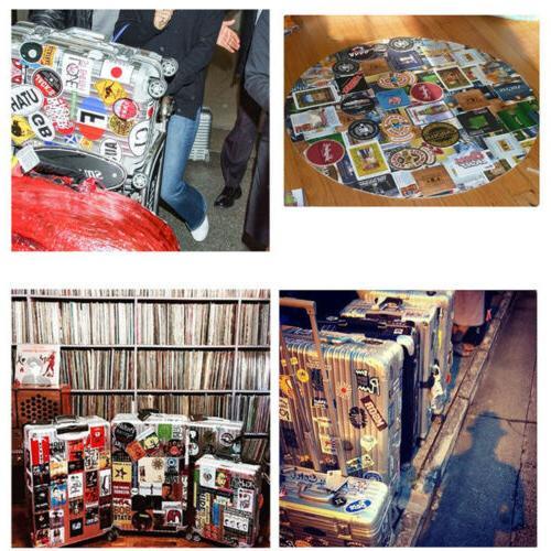 50 Skateboard Sticker Luggage Decals Dope Lot