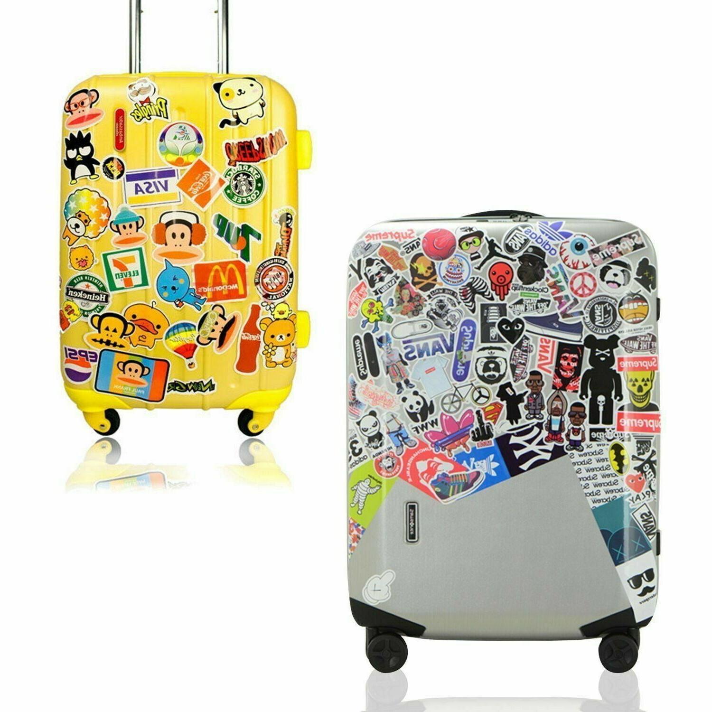 100 Waterproof Stickers Laptop Luggage Supreme Hypebeast