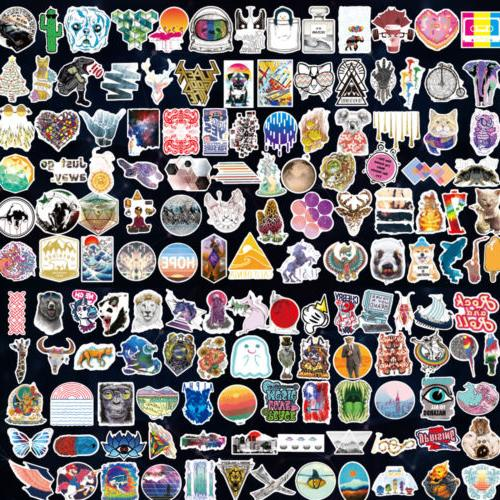 50/100/200/1000 Stickers Vinyl Laptop Luggage Decals Dope Lot