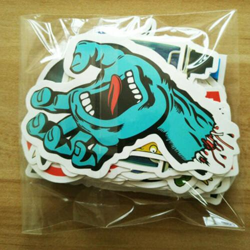 50/100/200/1000 Skateboard Stickers Vinyl Luggage Dope