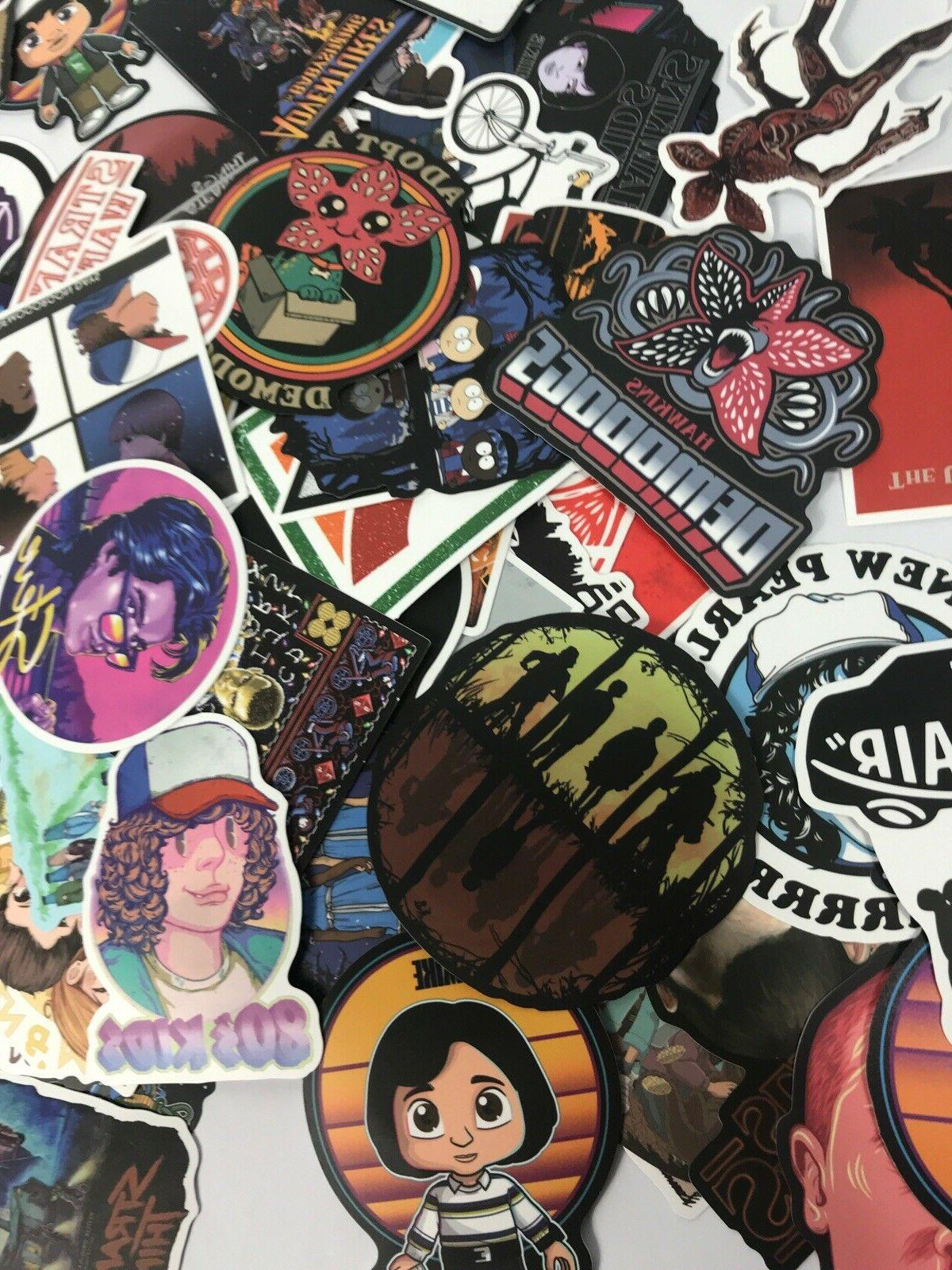 100pc Stranger Decal Kid Sticker Pack Set