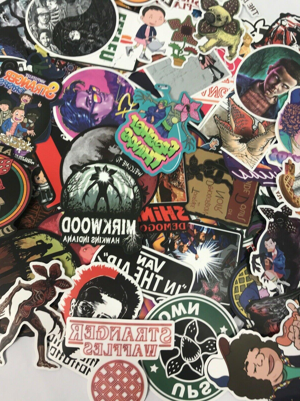 100pc TV Show Alien Decal Sticker Pack