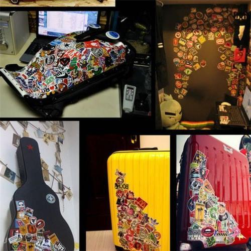 100 Stickers bomb Vinyl Laptop Dope