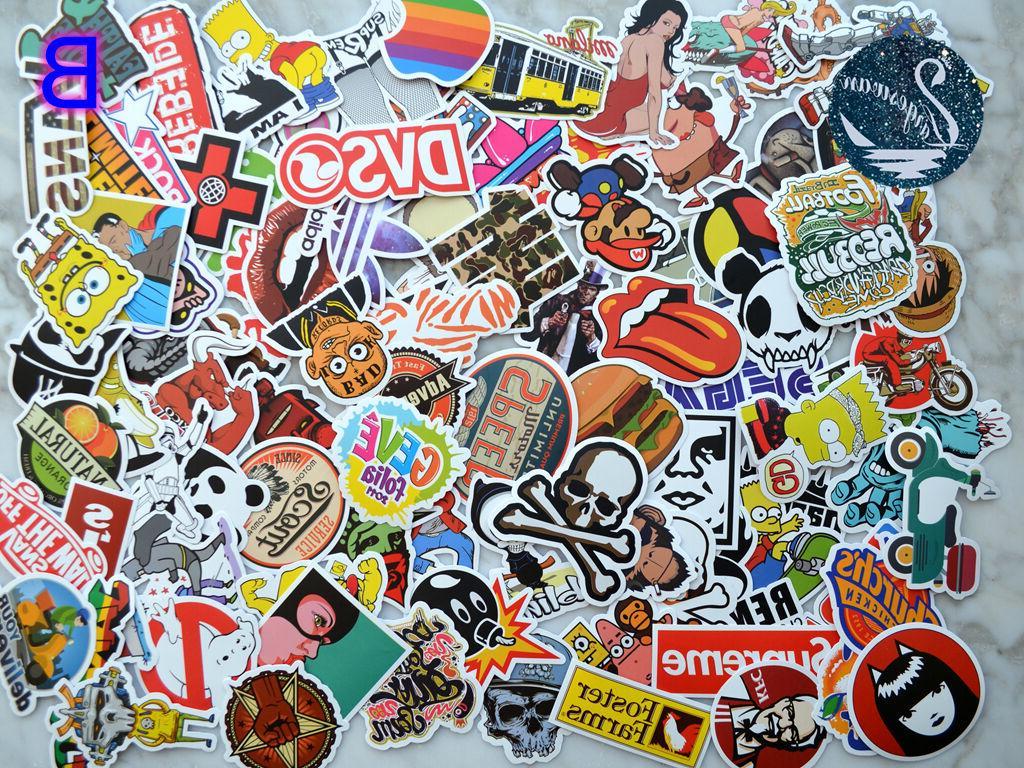 100pcs Decals Dope Laptop Sticker