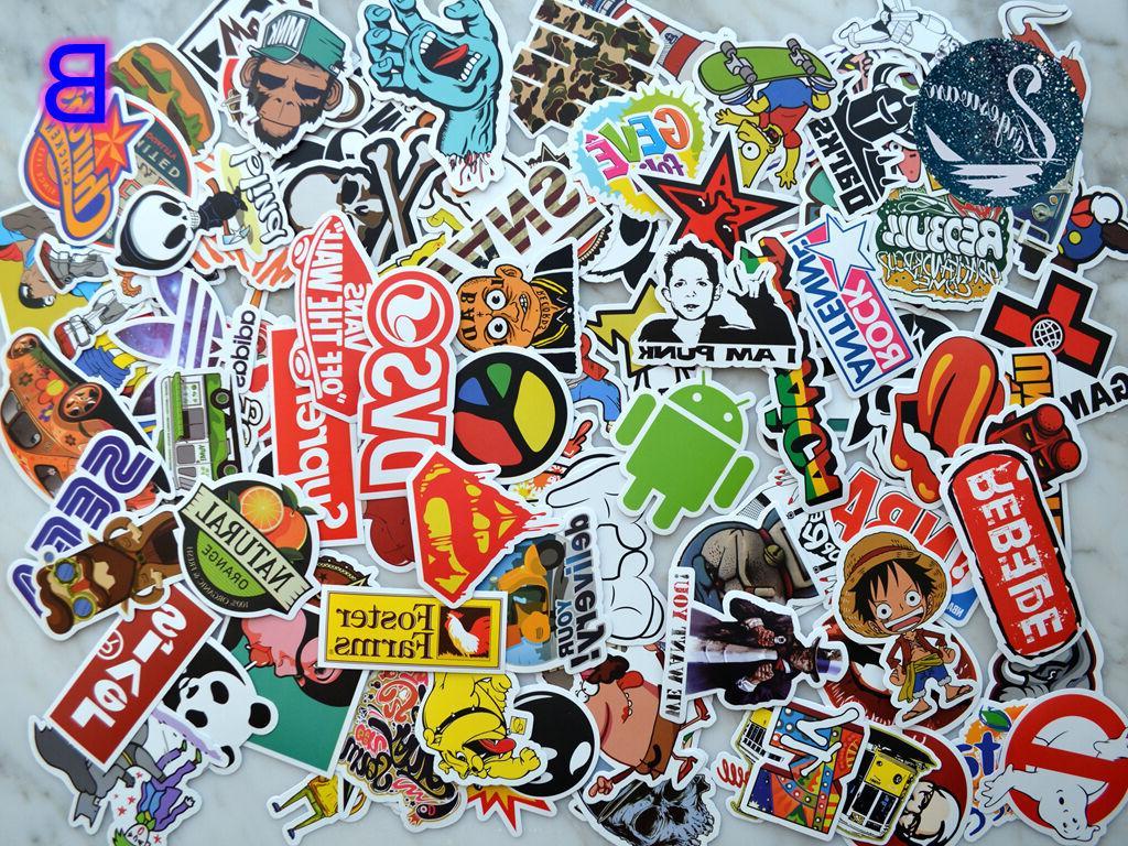 100pcs Graffiti Decals Dope Laptop Luggage