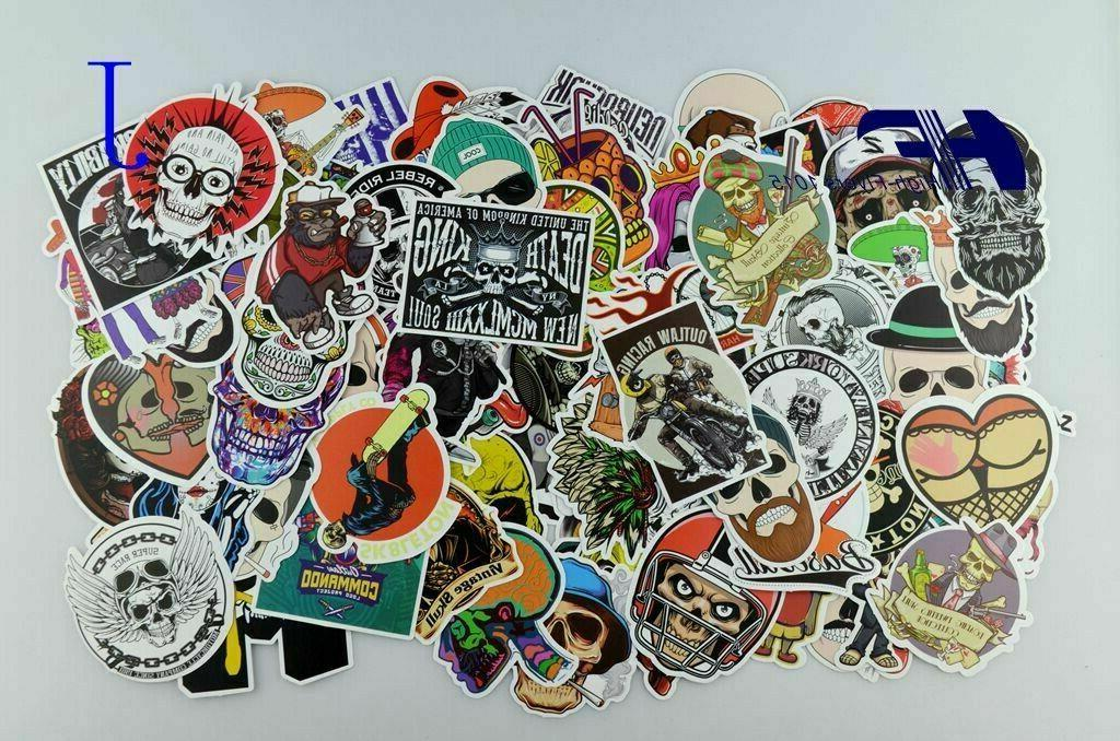 100pcs Graffiti bomb Vinyl Dope Car Sticker