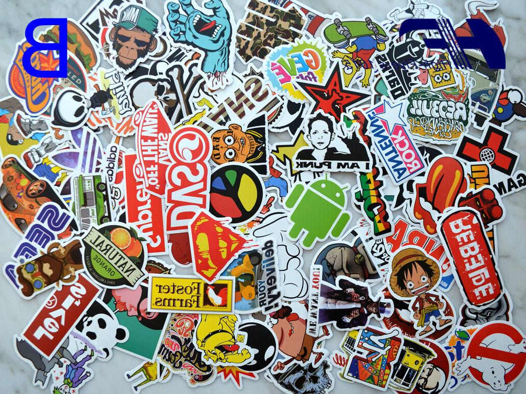 100pcs Laptop Luggage Graffiti bomb Decals