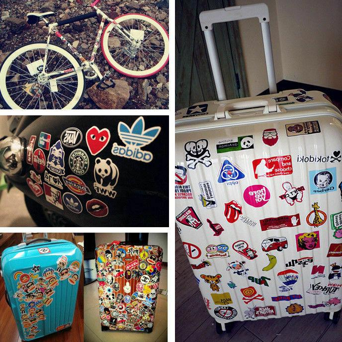 120 Sticker Bomb Graffiti Luggage Laptop Decal