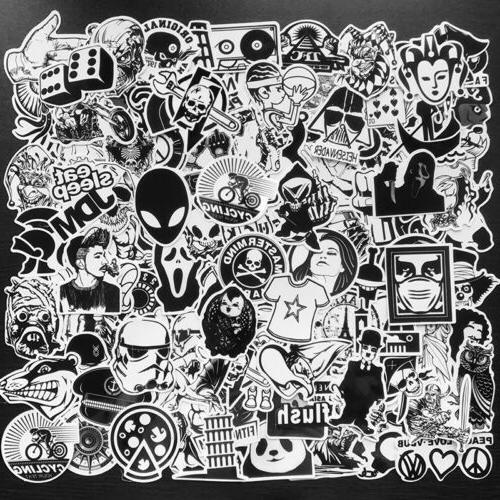 Bomb Luggage Laptop Decals Lot