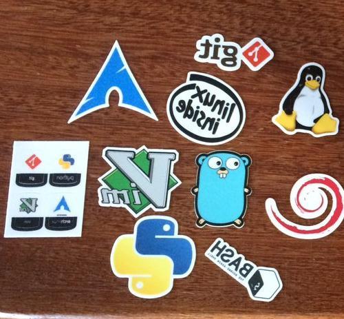 13 Vinyl Cut Developers Laptop Bash Vim Python Git