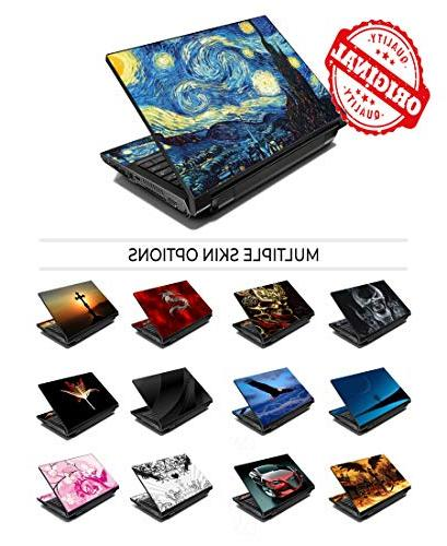 """LSS Laptop Cover with Butterfly Pattern HP Asus Acer Compaq - Fits 16.5"""" 18.4"""""""