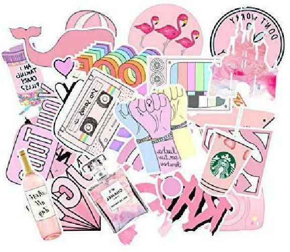 156 Stickers,Laptop and Bottle Sticker Pack Girl
