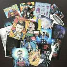 18Pcs Stranger Things Stickers Pack Paranormal Supernatural