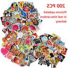 200 Pieces Stickers Skateboard Sticker Graffiti Laptop Lugga
