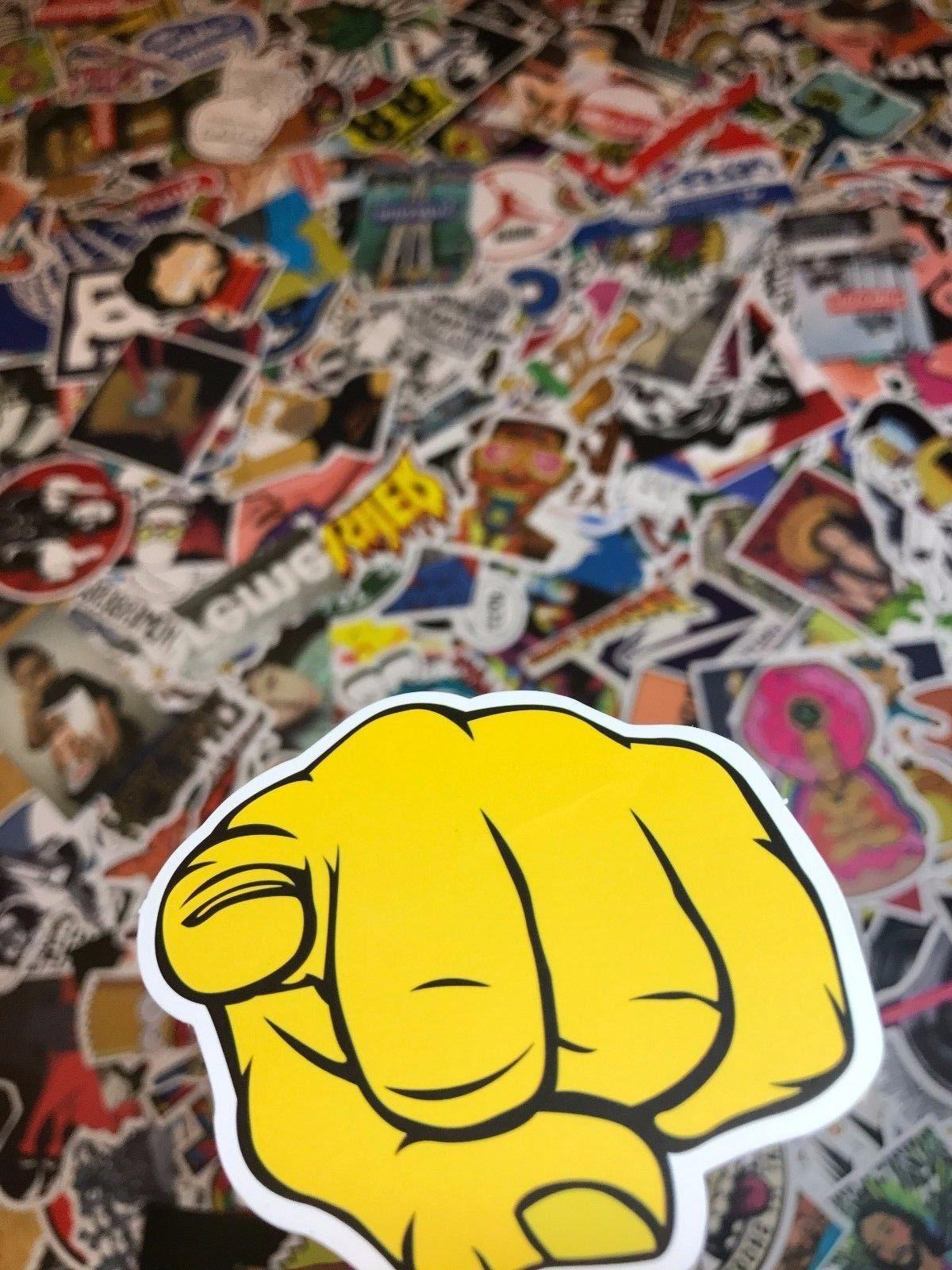 200 Skateboard Stickers Vinyl Laptop Dope Sticker lot cool