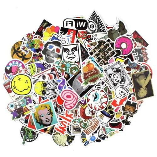 200 Random Skateboard Stickers Graffiti Decals mix