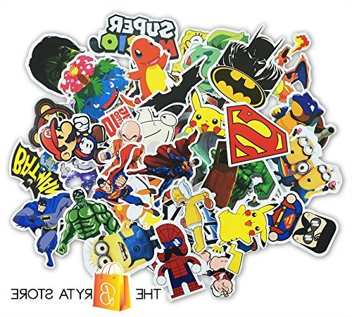 200 Stickers Vinyls of The Best Sticker Graffiti Luggage, Bumper, Hard Hat | Bryta Store